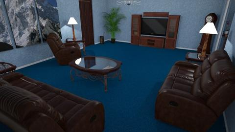 Butler LvgRm - Classic - Living room - by alonatech_2nd