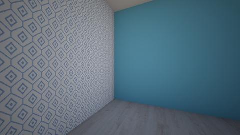 blue - Living room - by Tamar Lustig