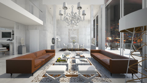 City Life - Eclectic - Living room - by AlSudairy S