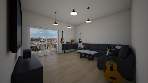 studio - Living room - by AfroditeGoldie