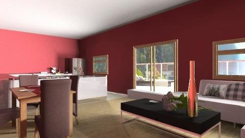 River Lodge - Living room - by Bekarr