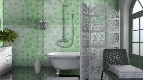 Tess - Eclectic - Bathroom - by milyca8