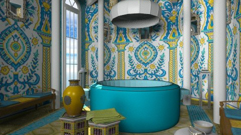 hamam - Eclectic - Bathroom - by chania