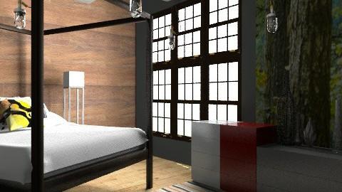 Industrial Bedroom - Minimal - Bedroom - by BambooPenguin