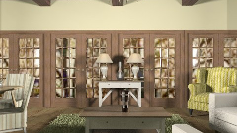 march - Country - Living room - by trees designs