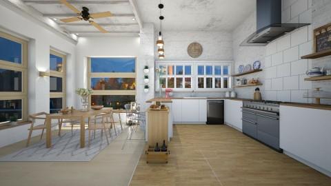 Open Kitchen - by shadowfeet