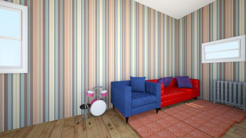 kids room Frankie - Eclectic - Kids room - by knarflesrok
