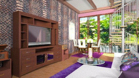 My Media room - Eclectic - by wiljun
