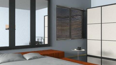 minimalist bedroom - Minimal - Bedroom - by auntiehelen
