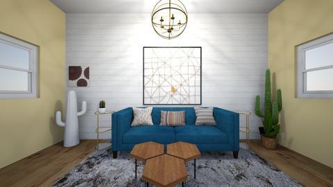 boho living room  - Living room - by addison_humes81