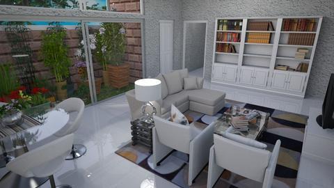 Apto Flor de Lotus - Modern - Living room - by Mariesse Paim