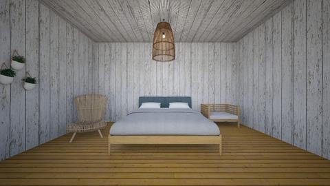 Beach House Interior - by hellohello88
