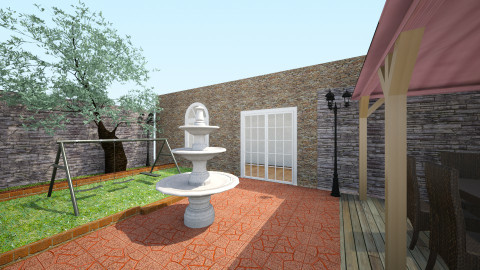 backyard garden - by MiiOoXx