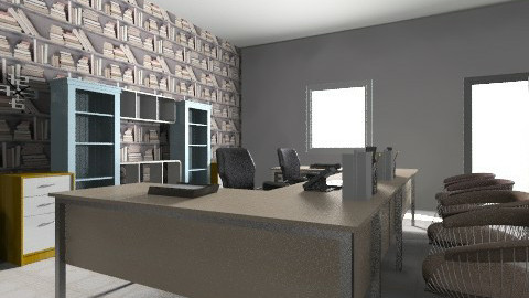 front office - Minimal - Office - by nonajoanne