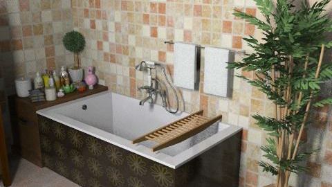 villa unifam IIp. bath1 - Glamour - Bathroom - by limina88