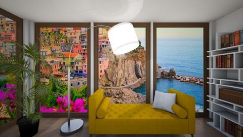 Italy Terazzo - Living room - by HeidiNel