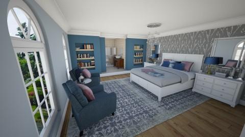 Blue Bedroom - Bedroom - by helenroberts