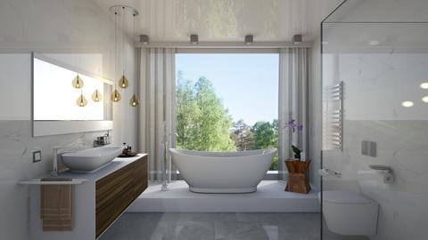 bathroom - Modern - Bathroom - by Valkhan