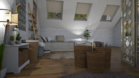 3 Boho Bedroom - Bedroom - by BFactor