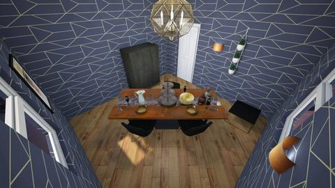 Geometric Dining room - Eclectic - Dining room - by majatheB