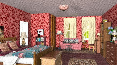 Grand Parents Bedroom - Classic - Bedroom - by Bibiche