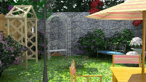 Pop Garden - Garden - by Rudibr