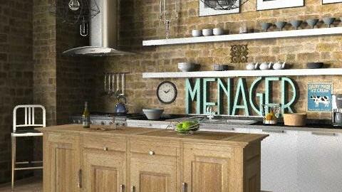 Loft - Kitchen - Eclectic - Kitchen - by LizyD