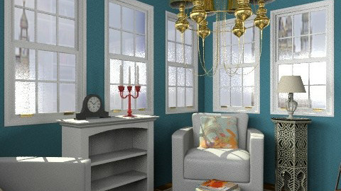 Reading Room - Eclectic - Office - by PFrate