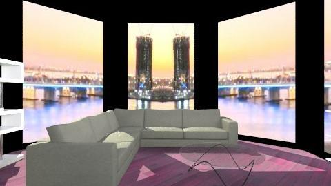 Reading corner - Minimal - Living room - by Jacquie Ru