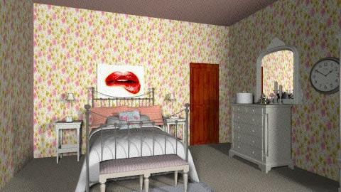 1940s Modern Bedroom 6 - Retro - Bedroom - by tillsa98