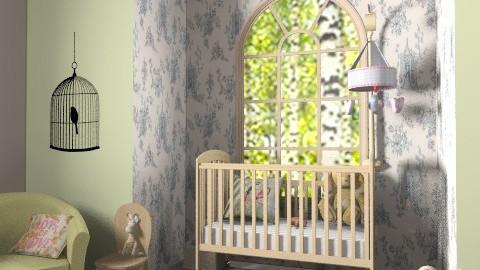 Willow Room - Classic - Bedroom - by missjojo