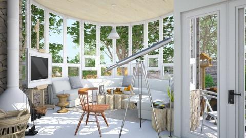 garret turret - Eclectic - Living room - by Isabella Desjardin