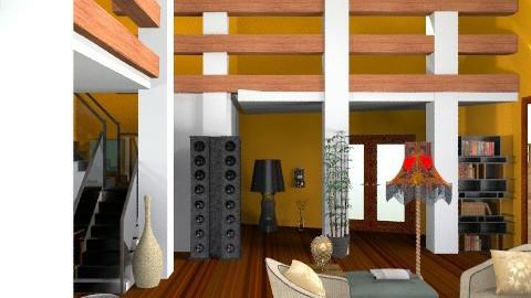 orange flat - Modern - by ATELOIV87