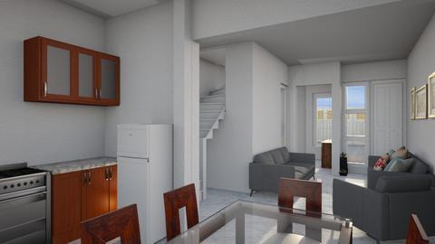 remodelacion casa arge - Living room - by argeideas