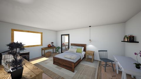 Bedroom ReDesign_whitdesk - Minimal - Bedroom - by Emilou602