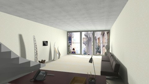 Sala - Office - by iloveidream