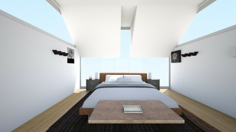 Modern Retreat - Bedroom - by bohlrachel