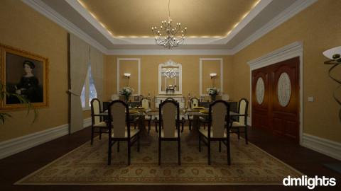 Classy Din - Dining room - by DMLights-user-982938