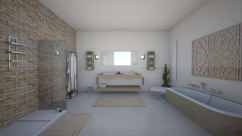 salle de bains - by Malouette