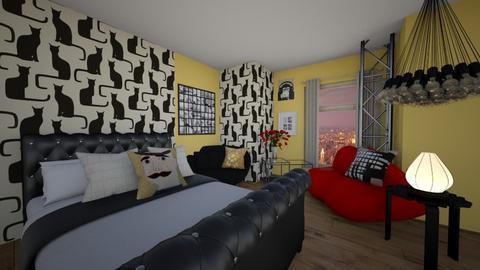 Maximaster Bedroom - by MaryPiove