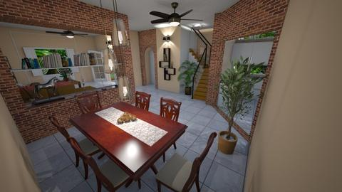 Village Clarissa - Modern - Dining room - by Mariesse Paim