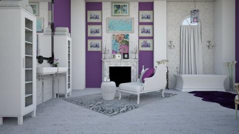 wall art 02 - Classic - Bathroom - by decordiva1