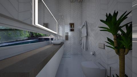 Casa158Bathroom - Eclectic - Bathroom - by nickynunes