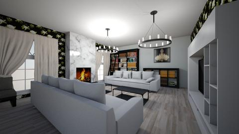 white and bright - Classic - Living room - by MSK