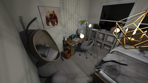 Teen room - Minimal - Bedroom - by CMCSmith