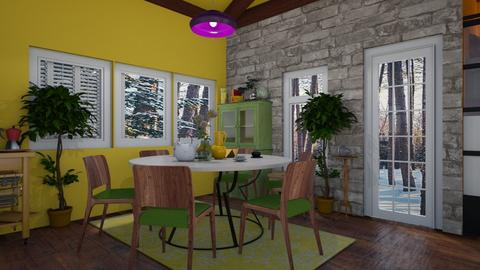 kotage dining room and k - by Moriia