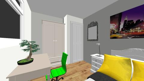 Bedroom 4  - Vintage - Bedroom - by Iva Tsiompani