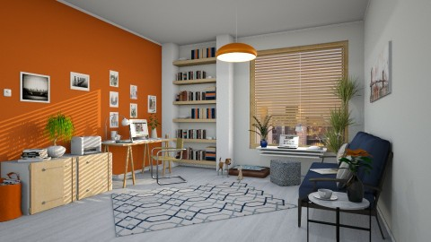 Home Office for Kelly - Office - by barnigondi