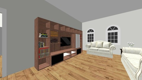 Casa 1 quarto - by Arquitetura e Decoracao