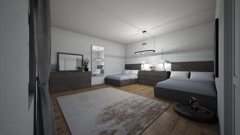 air b n b - Bedroom - by emmakatherinee